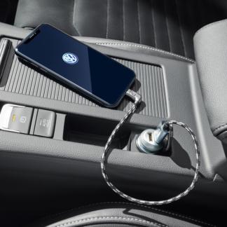 Universal USB-A to Apple Lightning premium cable 30cm 000051446AR