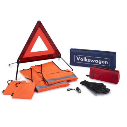 Universal Breakdown set with warning triangle and safety vests 000093059M