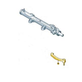 Transporter T6.1 2020-present Left Track Rod End 7E0422817